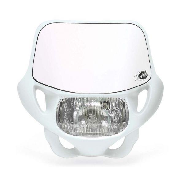 Faruri Moto Universale Acerbis Far Universal DHH Certified White