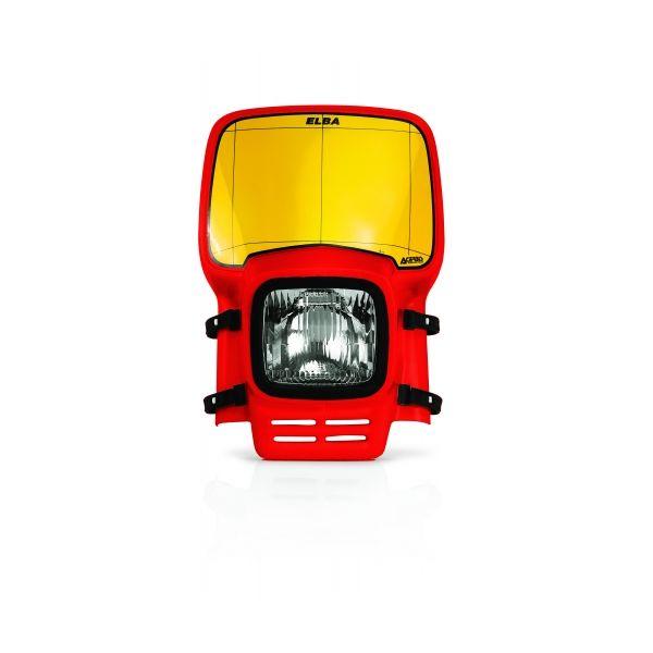 Faruri Moto Universale Acerbis Far Universal Elba Red