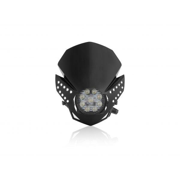 Faruri Moto Universale Acerbis Far Universal Fulmine Black