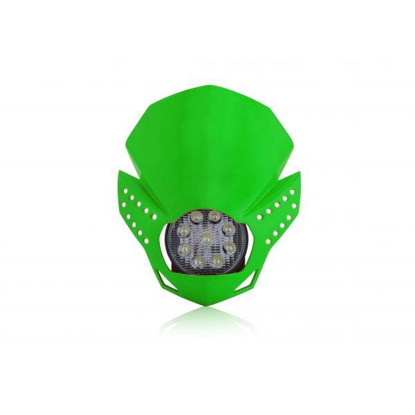 Faruri Moto Universale Acerbis Far Universal Fulmine Green