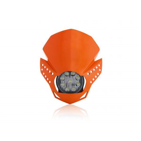 Faruri Moto Universale Acerbis Far Universal Fulmine Orange