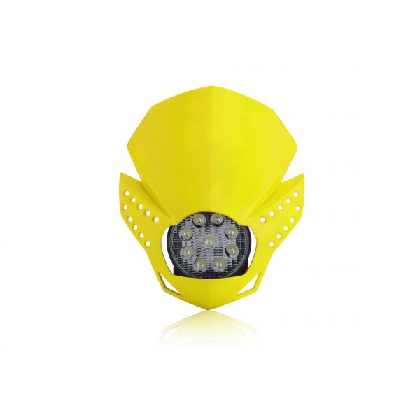 Faruri Moto Universale Acerbis Far Universal Fulmine Yellow