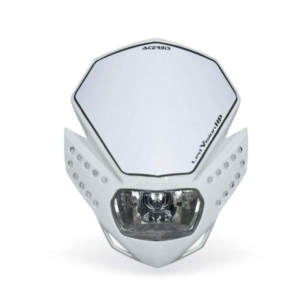 Faruri Moto Universale Acerbis Far Universal Led Vision HP White