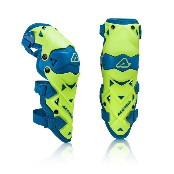 Genunchiere si Orteze Acerbis Genunchiere Impact Evo 3 Yellow/Blue