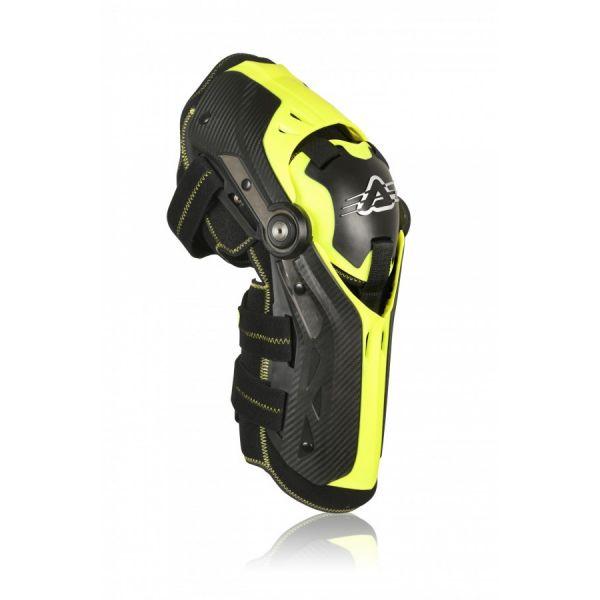 Genunchiere si Orteze Acerbis Genunchiere Moto Gorilla Level 2 Black/Yellow 2021