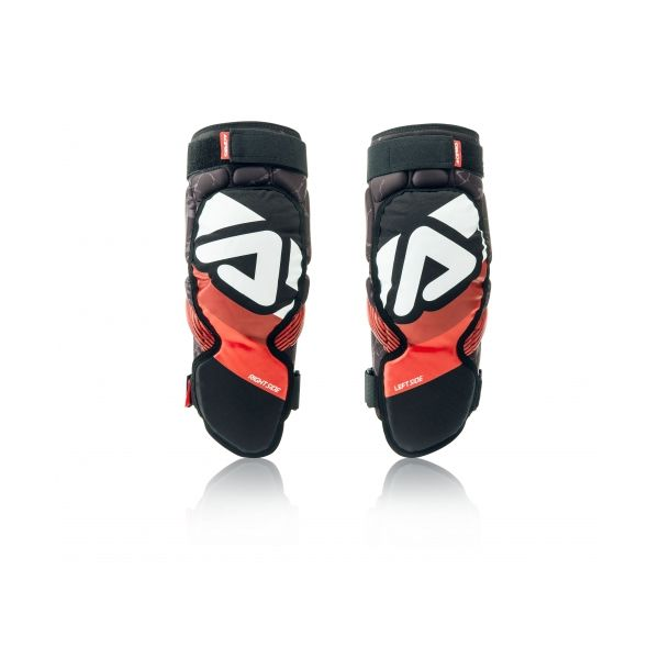 Genunchiere si Orteze Acerbis Genunchiere Soft 3.0 Black/Red