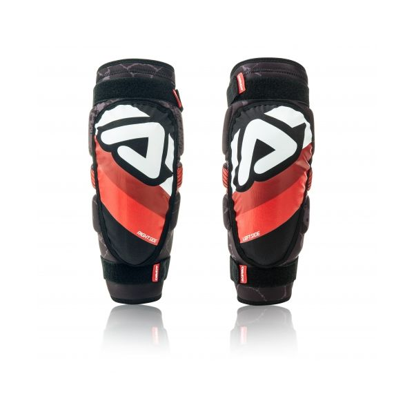 Protectii MX-Enduro Copii Acerbis Genunchiere Soft 3.0 Junior Black/White/Red