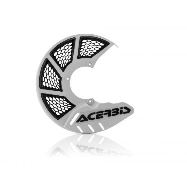 Protectii Disc Frana Acerbis Protectie Disc Frana Fata AC X-Brake 2.0 Alb/Negru