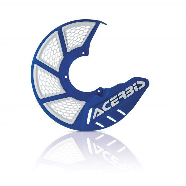Protectii Disc Frana Acerbis Protectie Disc Frana Fata AC X-Brake 2.0 Albastru/Alb