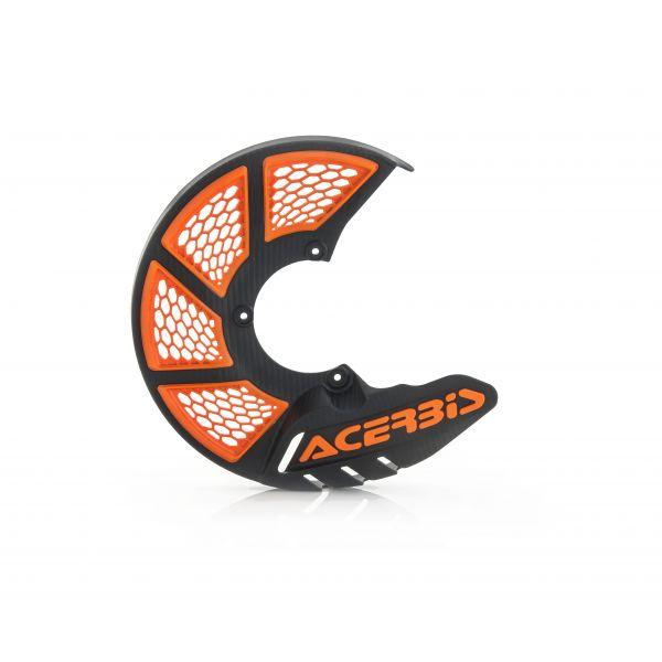 Protectii Disc Frana Acerbis Protectie Disc Frana Fata AC X-Brake 2.0 Negru/Portocaliu