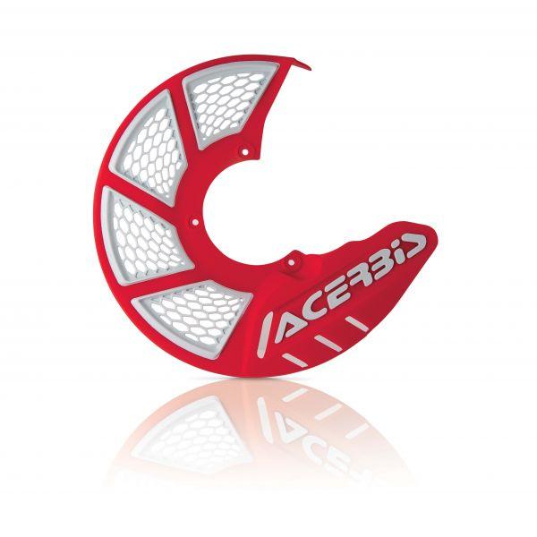 Protectii Disc Frana Acerbis Protectie Disc Frana Fata AC X-Brake 2.0 Rosu/Alb