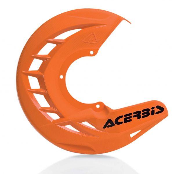 Protectii Disc Frana Acerbis Protectie Disc Frana Fata AC X-Brake Portocaliu
