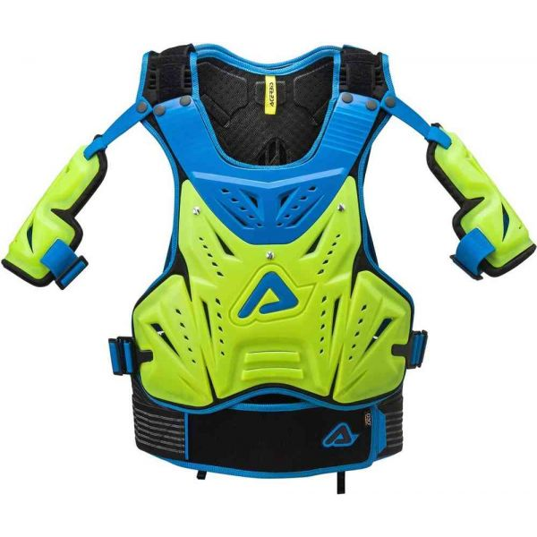 Protectii Piept-Spate Acerbis Protectie Piept Cosmo MX 2.0 Yellow/Blue