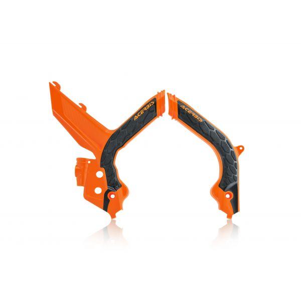 Scuturi moto Acerbis Protectii Cadru X-Grip Frame KTM SX/SXF 2019 Black/Orange
