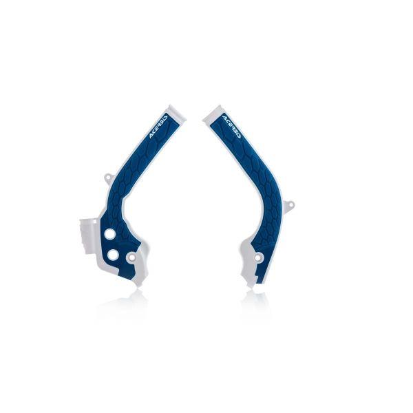 Scuturi moto Acerbis Protectii Cadru X-Grip KTM EXC/EXC-F 2017-2020 White/Blue