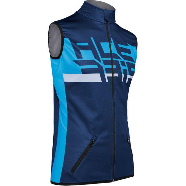 Jackets Enduro Acerbis X-Wind Softshell Blue 2020 Vest