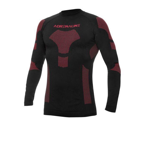 Imbracaminte Moto Function Adrenaline Bluza Termoactiva ADRENALINE FROST Black/Red 2021