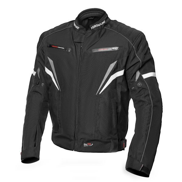 Geci Moto Textil Adrenaline Geaca Moto Textila SOLA 2.0 CE Black 2021