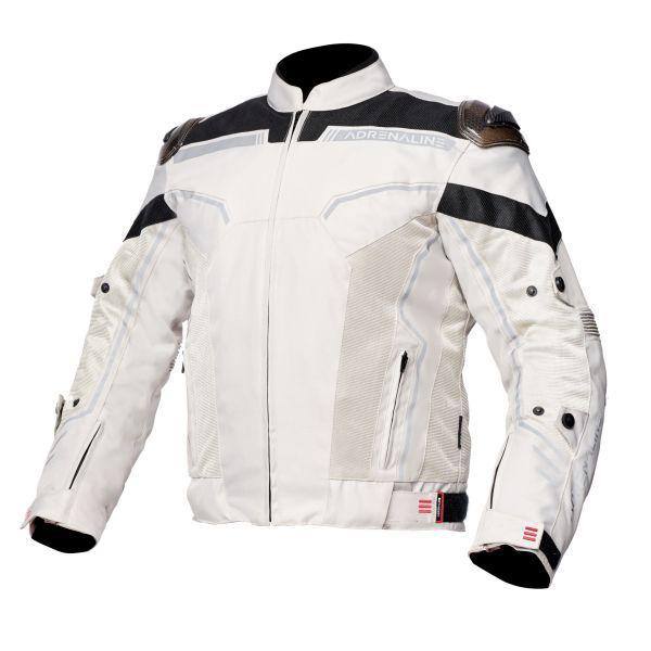 Geci Moto Textil Adrenaline Geaca Moto Textila VIRGO CE Grey 2021