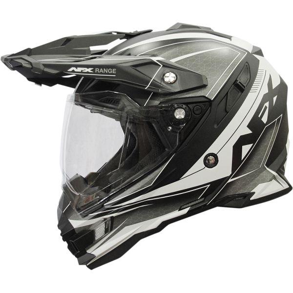 Casti ATV AFX  Casca Moto Dual Sport FX-41 Range Matte Black 2021