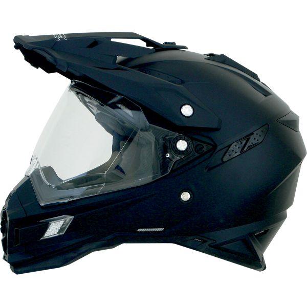 Casti ATV AFX Casca Moto Dual Sport FX-41DS Adventure Flat Black 2021