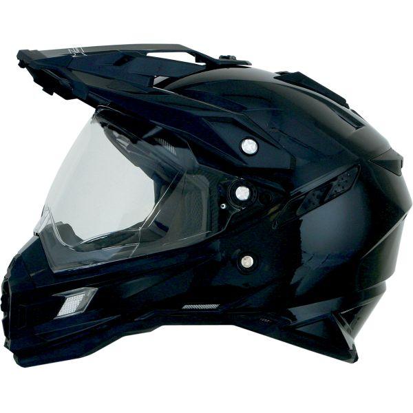Casti ATV AFX Casca Moto Dual Sport FX-41DS Adventure Gloss Black 2021