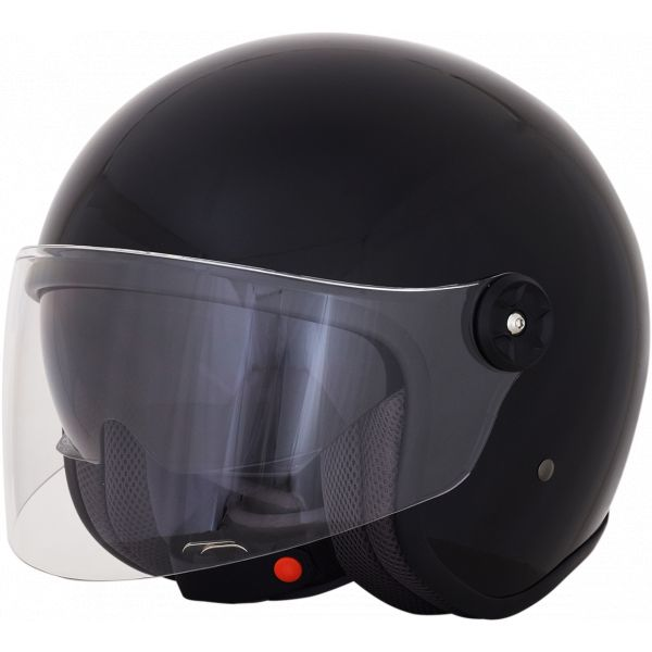 Casti Moto Jet (Open Face) AFX  Casca Moto Jet/Open Face FX-143 Gloss Black 2021