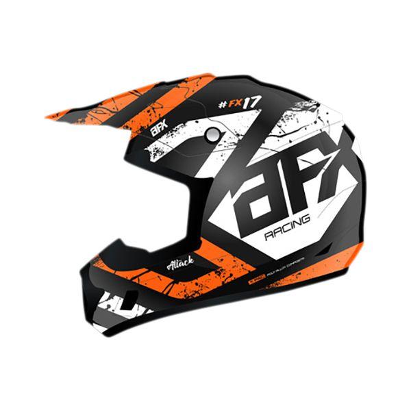 Casti MX-Enduro Copii AFX  Casca Moto MX Copii FX17ye Attack Matte Orange 2021