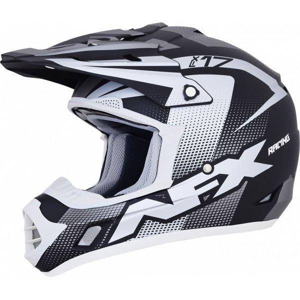 Casti MX-Enduro AFX Casca Moto MX FX-17 Holeshot Offroad Frost Gray/Black/White 2021