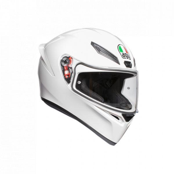 Casti AGV AGV Casca Integrala K1 E2205 Solid 2020 White
