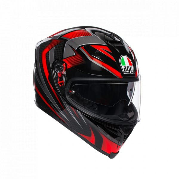 AGV Casca Integrala K5 S E2205 Multi Mplk 2020 Hurricane 2.0 Black/Red