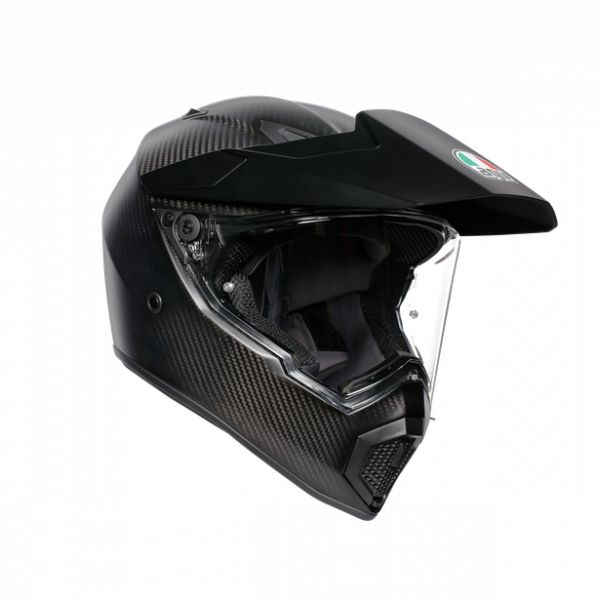 Casti AGV AGV Casca Integrala Touring Ax9 E2205 Solid Mplk 2020 Matt Carbon