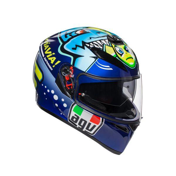 AGV Casca K-3 SV E2205 TOP Rossi Misano 2015