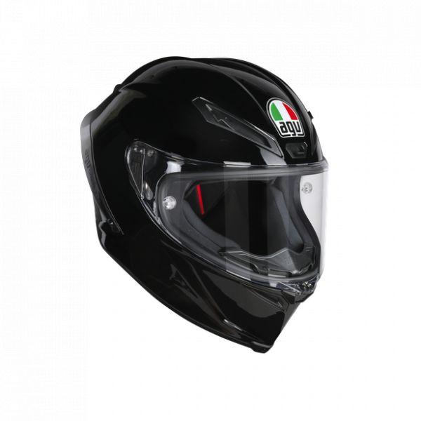 Casti Moto AGV AGV Casca Moto Full-Face Corsa R E2205 Solid Mplk Black 2021