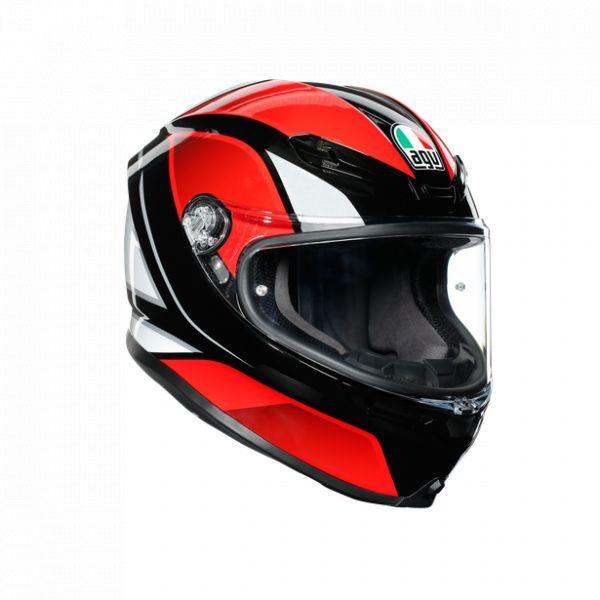Casti Moto AGV AGV Casca Moto Full-Face K6 Ece Multi Mplk Hyphen Black/Red/White 2021