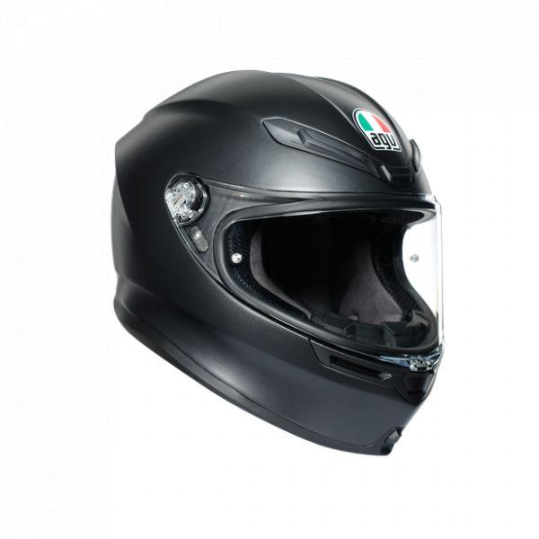 Casti Moto AGV AGV Casca Moto Full-Face K6 Ece Solid Mplk Matt Black 2021