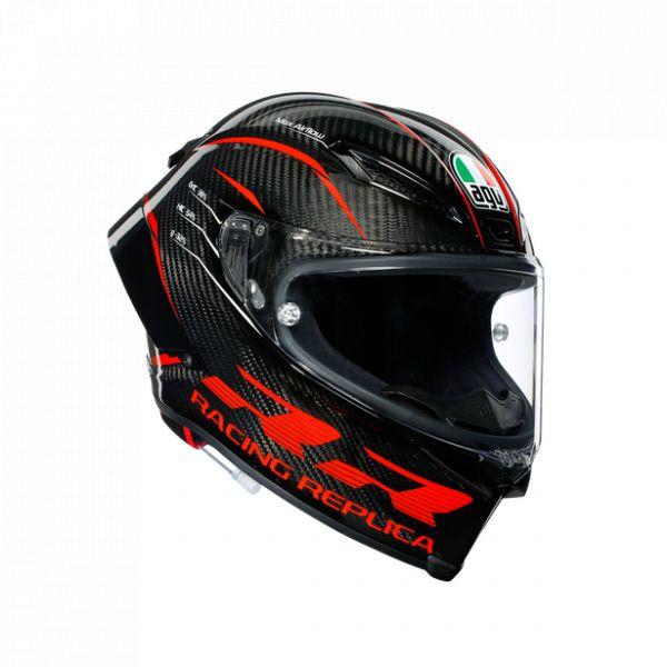 Casti Moto AGV AGV Casca Moto Full-Face Pista Gp Rr Ece-Dot Multi Mplk Performance Carbon/Red 2021