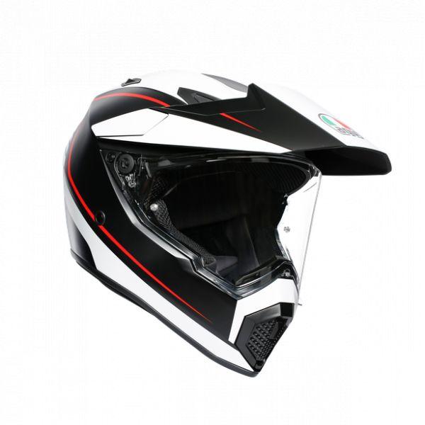 Casti Moto AGV AGV Casca Moto Touring Ax9 E2205 Multi Mplk Pacific Road Matt Black/Wh/Red 2021