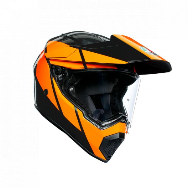 Casti Moto AGV AGV Casca Moto Touring Ax9 E2205 Multi Mplk Trail Gunmetal/Orange 2021