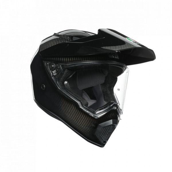 Casti Moto AGV AGV Casca Moto Touring Ax9 E2205 Solid Mplk Glossy Carbon 2021