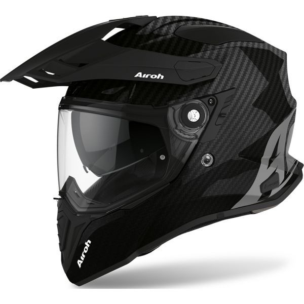 Casti ATV Airoh Casca ATV Commander Full Carbon Gloss 2020