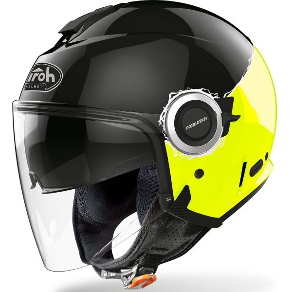 Airoh Casca Helios Fluo Black/Yellow Gloss 2020