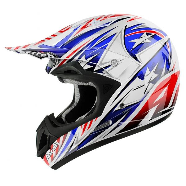 Casti MX-Enduro Airoh Casca Jumper Attack Gloss