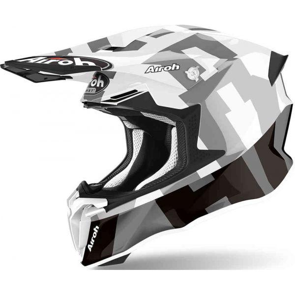 Casti MX-Enduro Airoh Casca Moto MX Twist 2.0 Frame Grey 2021