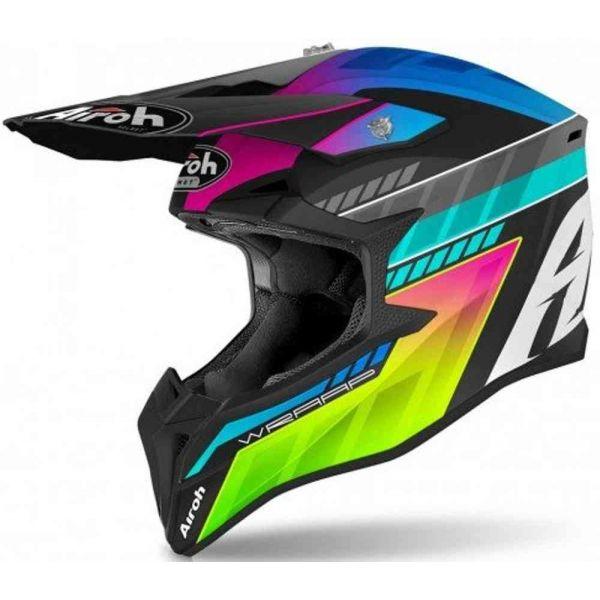 Casti MX-Enduro Airoh Casca Moto MX Wraap Prism Matt 2021