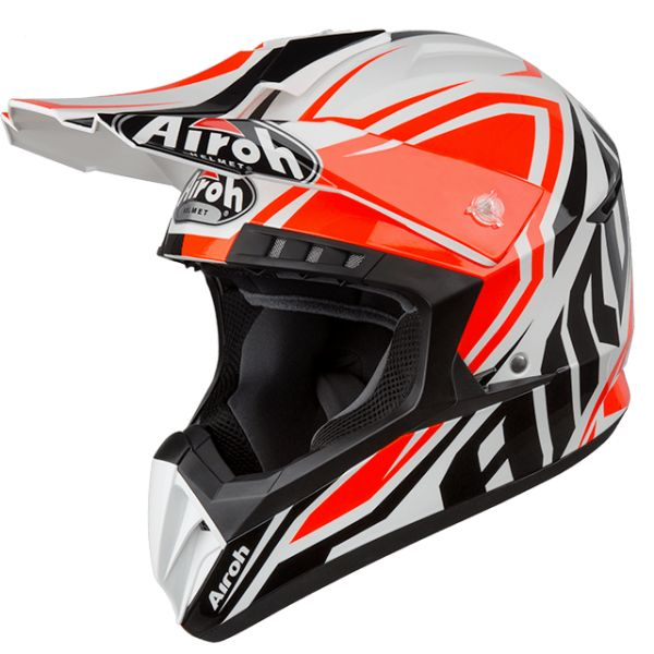 Casti MX-Enduro Airoh Casca Switch Impact Orange Gloss 2019