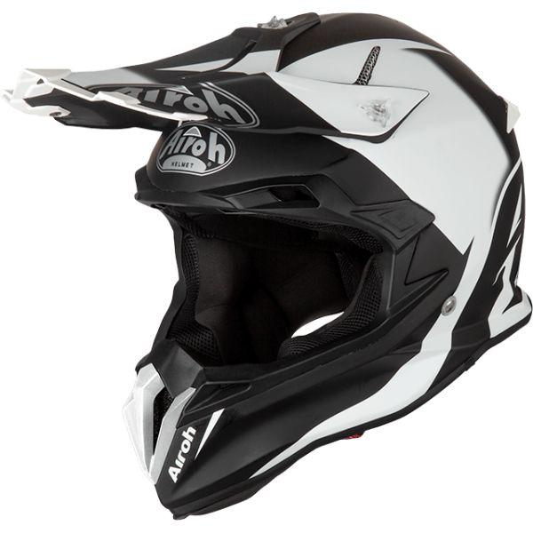 Casti MX-Enduro Airoh Casca Terminator Open Vision Slider Black Matt