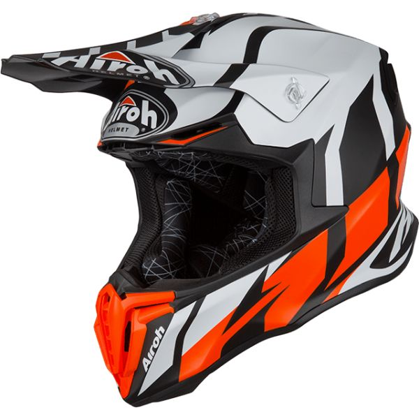 Casti MX-Enduro Airoh Casca Twist Great Orange Matt 2019