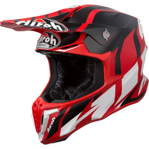 Casti MX-Enduro Airoh Casca Twist Great Red Matt 2019