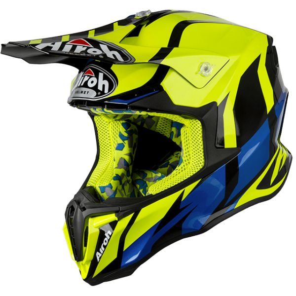 Casti MX-Enduro Airoh Casca Twist Great Yellow Gloss 2019